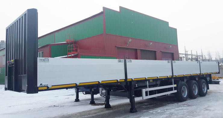 Бортовая площадка STEELBEAR отправилась в Сибирь город Томск для работы в нефтегазовой отрасли