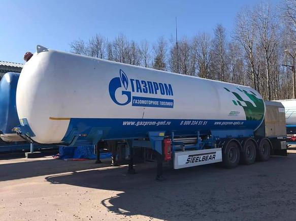 Полуприцеп-цистерна STEELBEAR  для перевозки опасных грузов